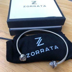 Men's Zorrata Silver Lion Bangle